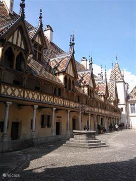 Beaune ... one of the most beautiful cities in Burgundy with ao. the Hospice de Beaune