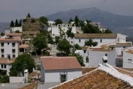 5-De ligging van het dorp Comares