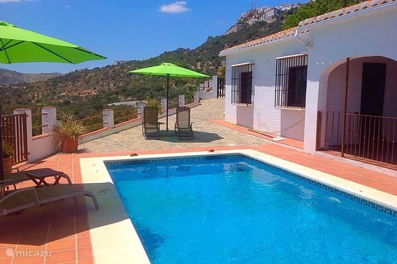 Vakantiehuis Spanje, Costa del Sol, Comares Villa Villa Luna Comares, Axarquía + Pool