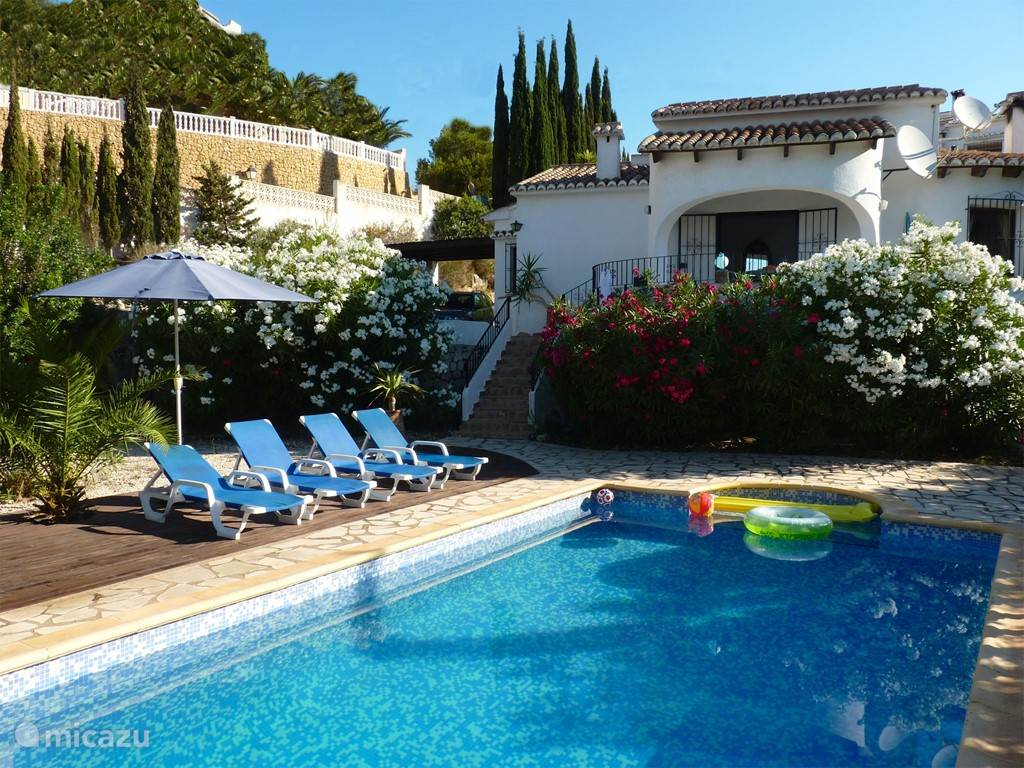 Vakantiehuis Spanje, Costa Blanca, Moraira villa Casa Carpe Diem