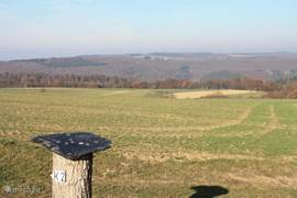Een van de vele uitzichtpunten rond Liesenich