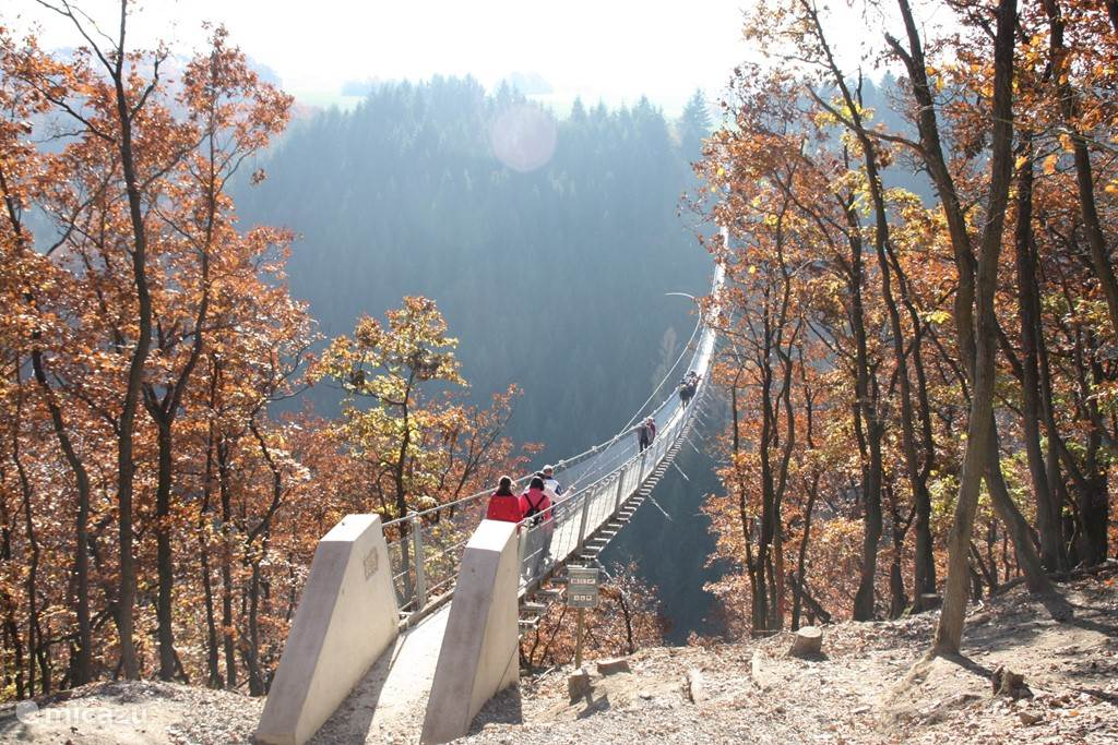 Langste hangbrug van Duitsland