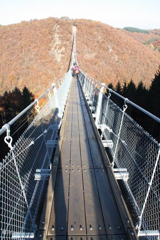 Langste hangbrug in Duitsland