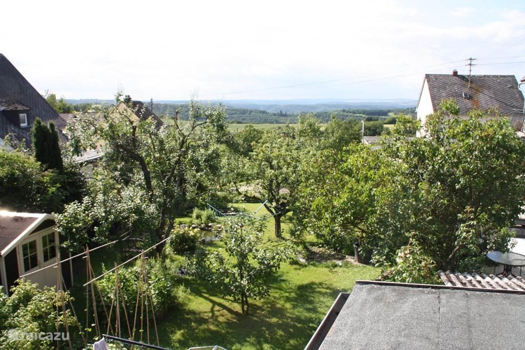 Uitzicht vanaf het dakterras