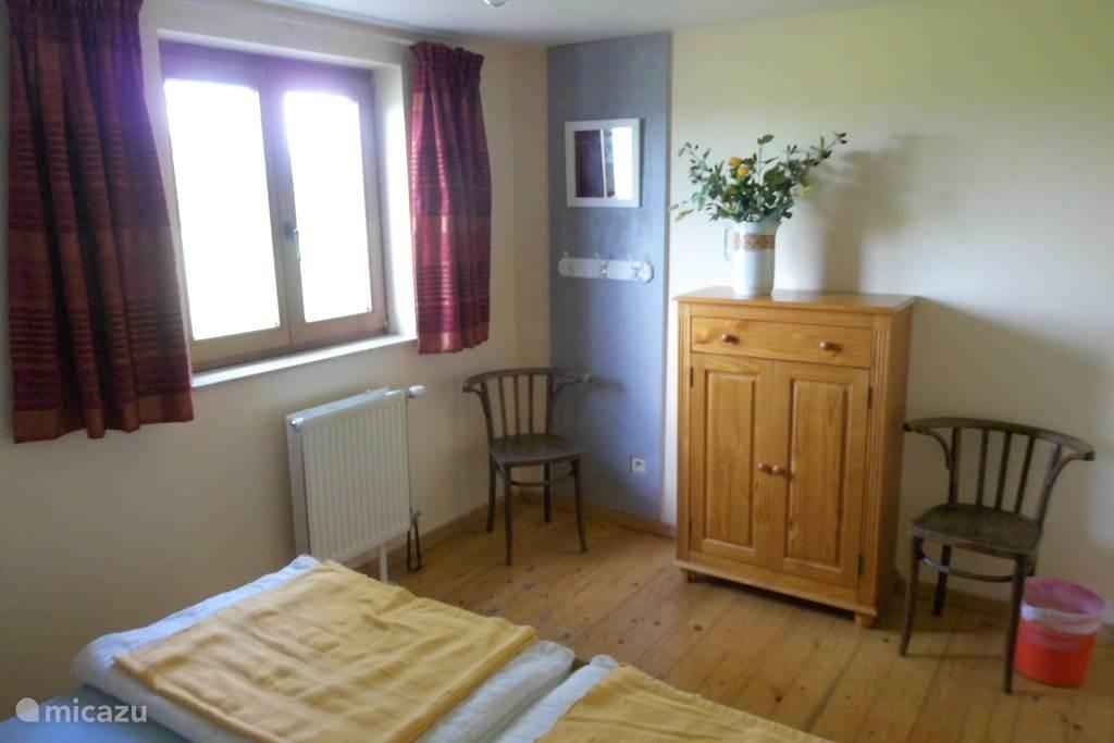 Slaapkamer op de begane grond.