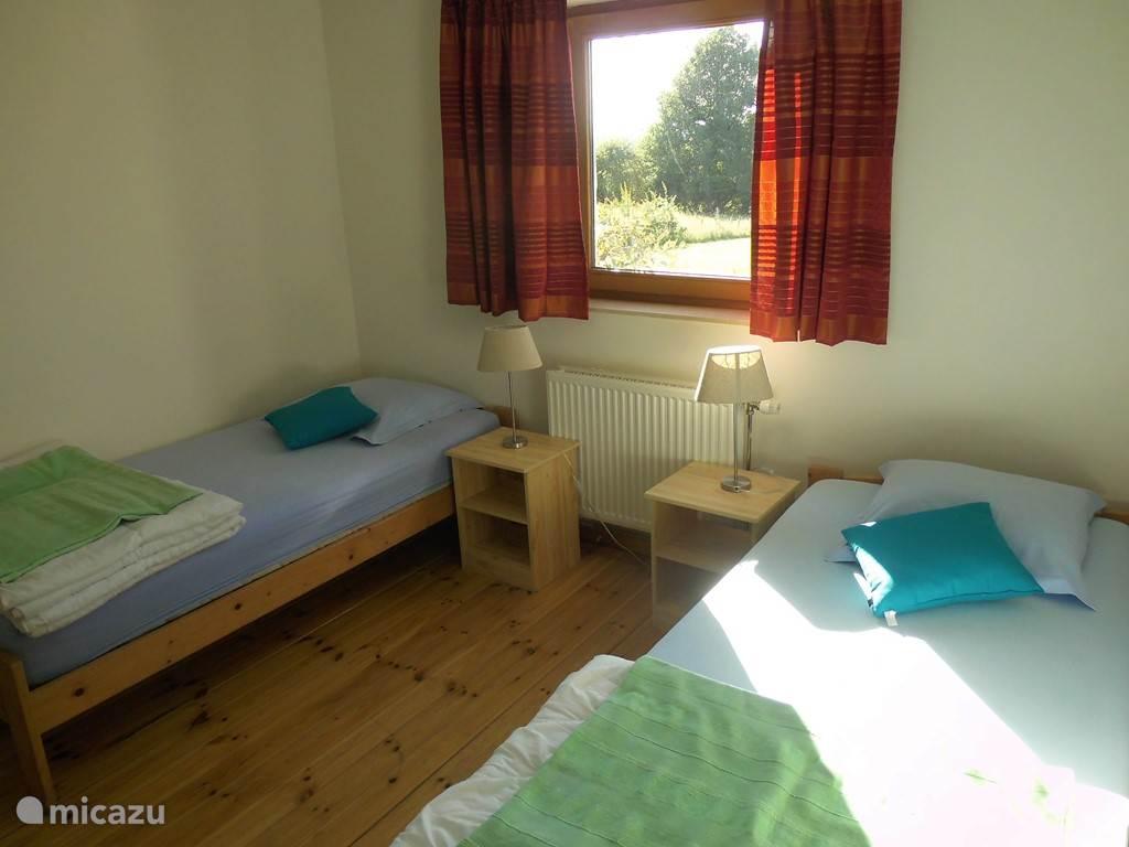 Schlafzimmer im Erdgeschoss.