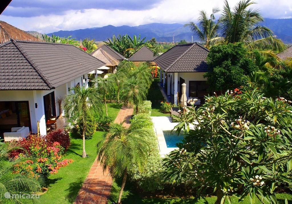 Vacation rental Indonesia, Bali, Seririt - bed & breakfast Villa Bali Mahakai