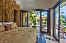 Gasthuis met dubbel bed