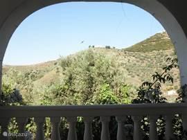 Uitzicht van veranda.