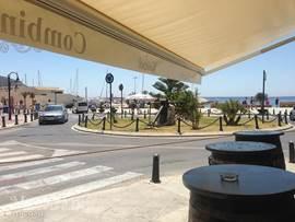 Het centrum van Moraira.