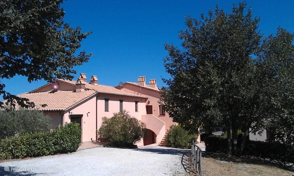 Vakantiehuis Italië, Marche, San Lorenzo In Campo - appartement Casa Olmo