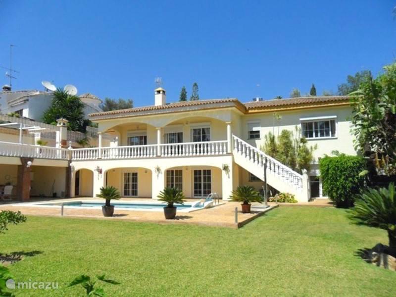 Vakantiehuis Spanje, Costa del Sol, Mijas Costa - villa Villa Uncle Sam- Urb. Sierrezuela