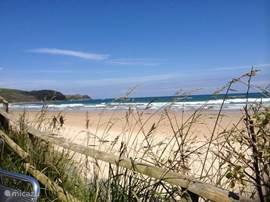 Meerdere mooie en schone stranden vanaf 3 km afstand.