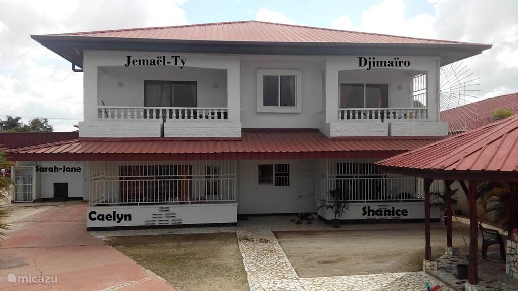 Vakantiehuis Suriname, Paramaribo, Paramaribo Appartement Riando appartement (Caelyn)