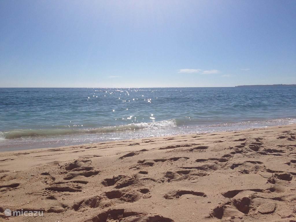 Dit strand spreekt voor zich en dat kilometers lang. Op 10 minuten lopen.