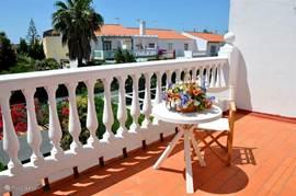 Balkon uitzicht naar het zuiden