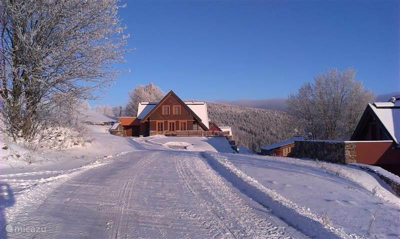 Vacation rental Czech Republic, Giant Mountains, Zacler villa Czech Republic Villa Faber Lenberic