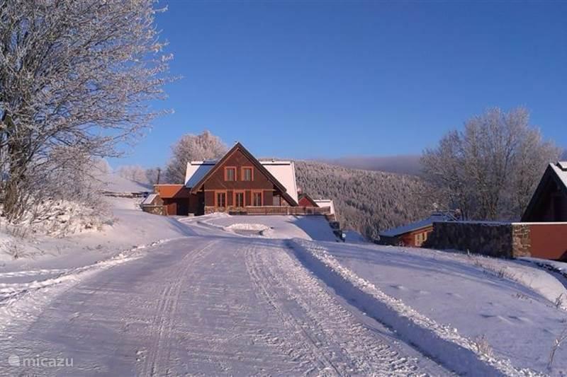 Vakantiehuis Tsjechië, Reuzengebergte, Žaclér Villa Tsjechië Villa Faber Lenberic