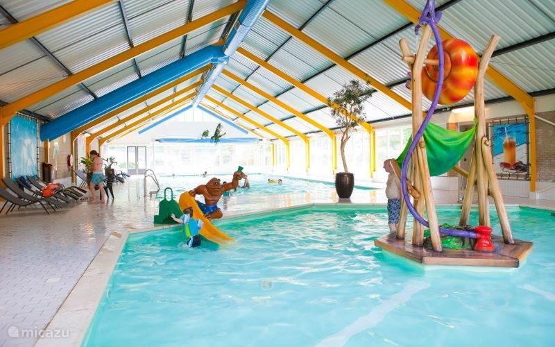 het zwembad van Droompark Beekbergen