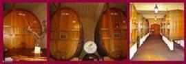 ...en je krijgt een rondleiding in de wijnkelders....