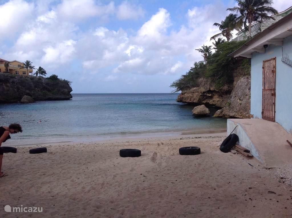 Het strandje van Lagun is dichtbij en heel charmant
