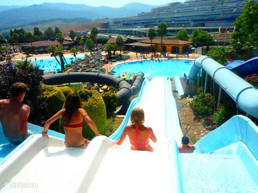Aqua Bahia Park, slide and splash