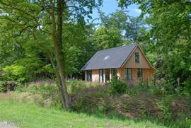 Ligging huis tegen de bosrand
