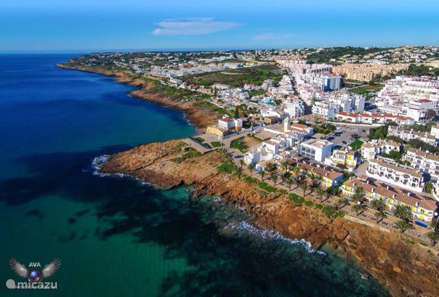 Luchtfoto van Praia Da Luz