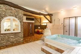 Welness met o.a. jacuzzi en sauna