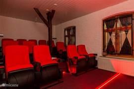 12-persoons bioscoop met groot scherm en onbeperkt aanbod van films en series