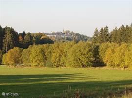 Directe omgeving vakantiehuis met zicht op Lichtenberg