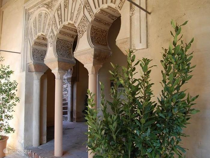 Het Alcazaba in Málaga.