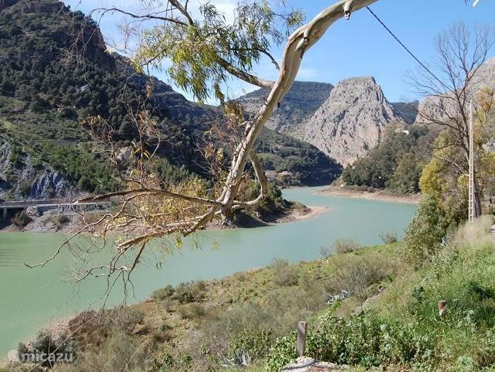 De natuur in Andalusië is schitterend.