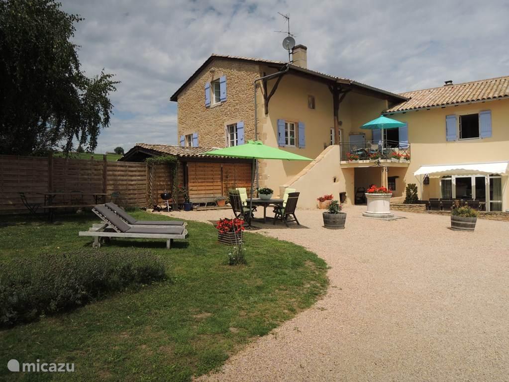 Vakantiehuis Frankrijk, Bourgogne, Vinzelles Gîte / Cottage Pouilly