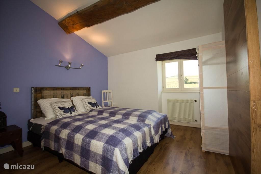 Slaapkamer met 2x 1-persoonsbed