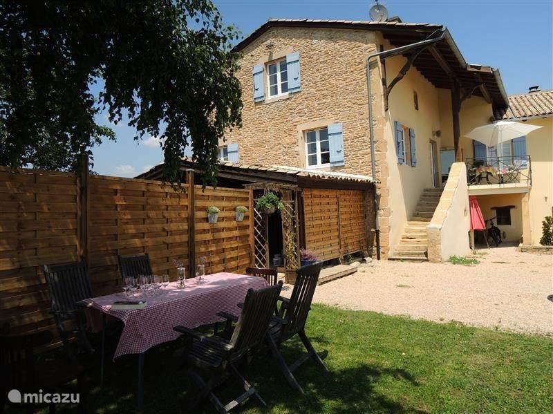 Vakantiehuis Frankrijk, Bourgogne, Vinzelles Gîte / Cottage Pouilly Fuissé