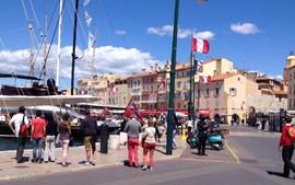 St. Tropez, voor een van de vele dagtochten die u in de omgeving kunt maken.