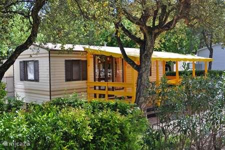 Vakantiehuis Frankrijk, Côte d´Azur, Roquebrune-sur-Argens stacaravan Lei Suves Cote d'Azur Retro chalet