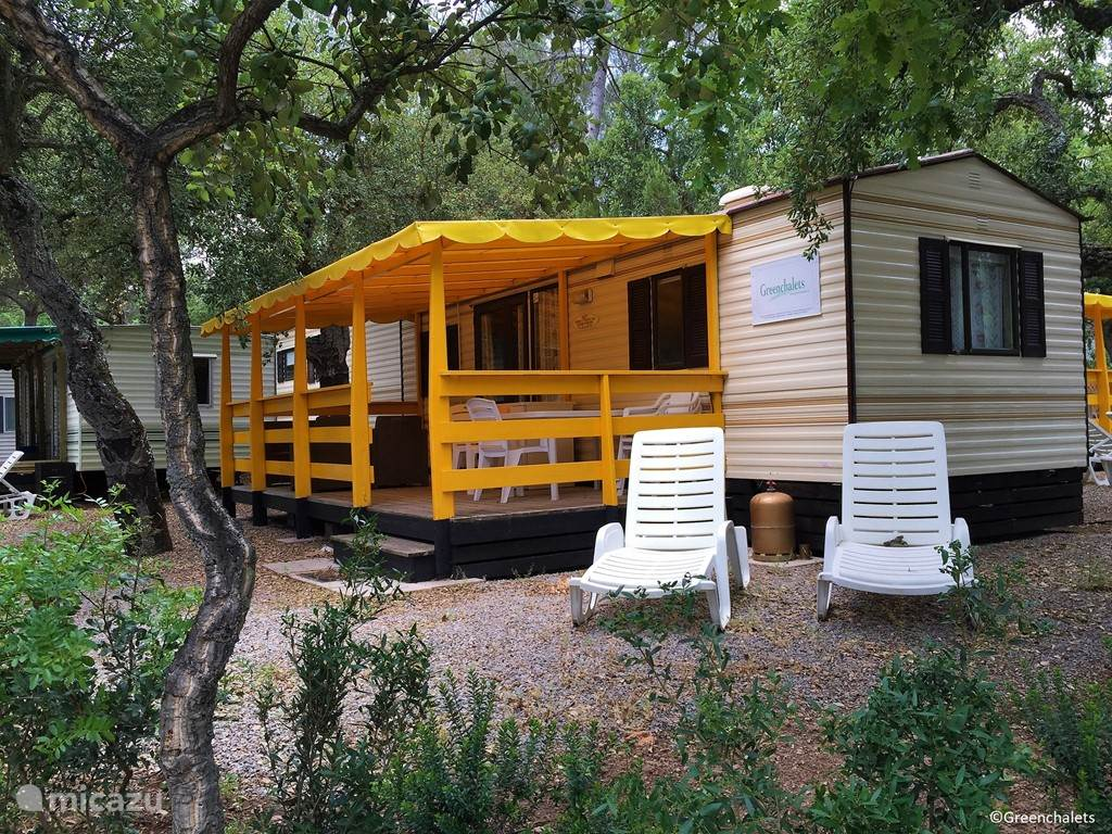 Vacation rental France, French Riviera, Roquebrune-sur-Argens Mobile home Greenchalets Provence Cote d'Azur