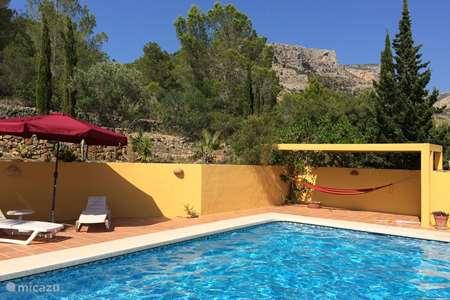 Vacation rental Spain, Costa Blanca, Jesus Pobre finca Casa Carolina