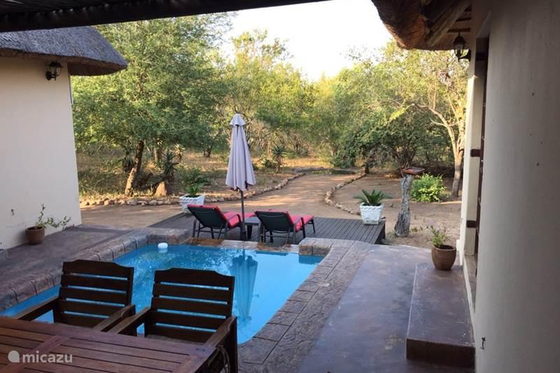 Vakantiehuis Zuid-Afrika, Mpumalanga, Marloth Park Vakantiehuis Lituba Place, huis aan Krugerpark