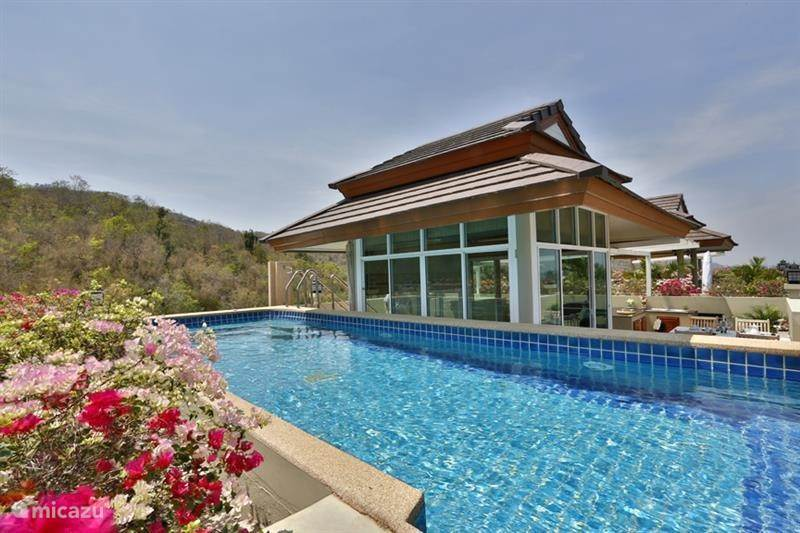 Vakantiehuis Thailand, Centraal-Thailand, Hua Hin Penthouse Penthouse met privé zwembad op dak