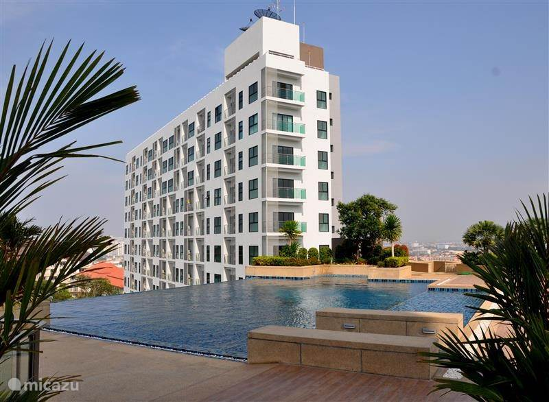 Vakantiehuis Thailand – appartement Appartement The Axis in Pattaya