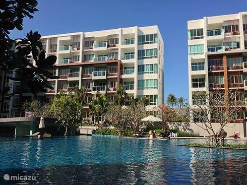 Vakantiehuis Thailand, Centraal-Thailand – appartement Appartement dicht aan het strand