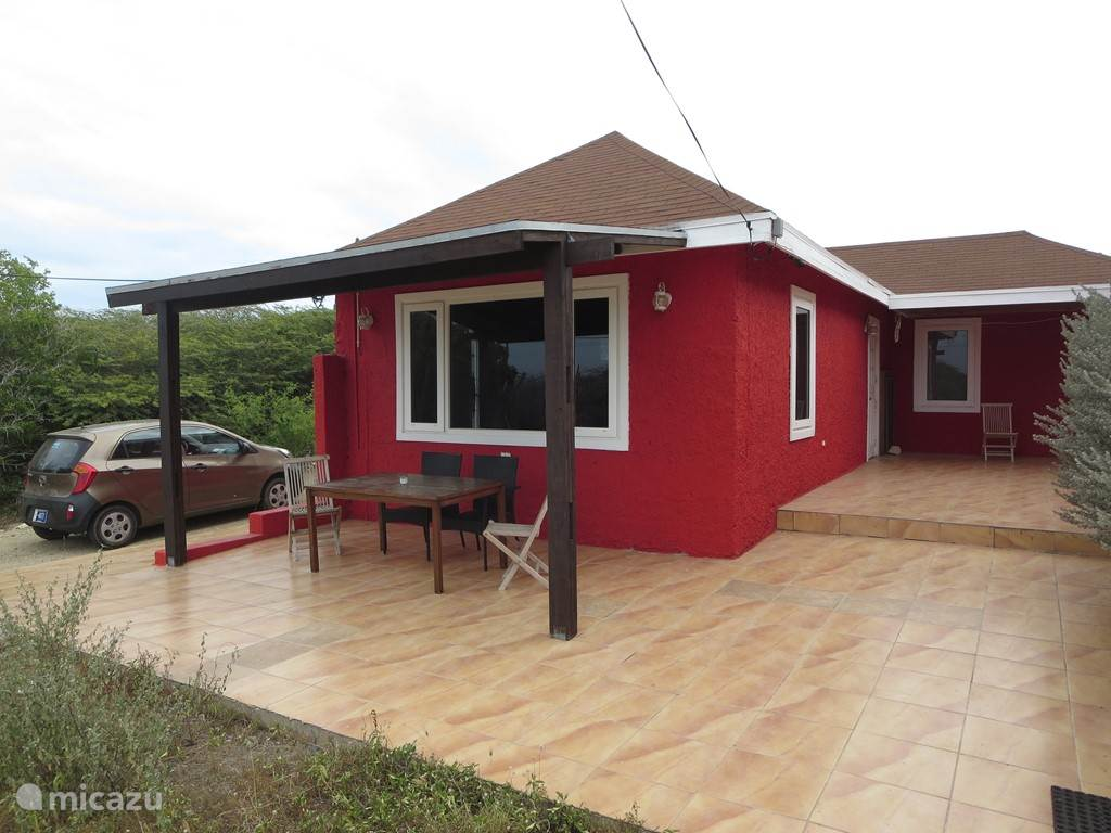 Vacation rental Aruba, San Nicolas – holiday house Red Cottage Sero Colorado