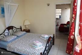 Slaapkamer appartement 3 papaya