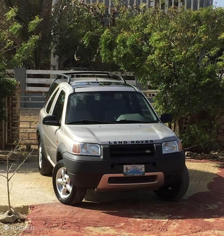 Land Rover Freelander, handgeschakeld.