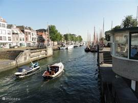 Vesting haven in Hellevoetsluis.