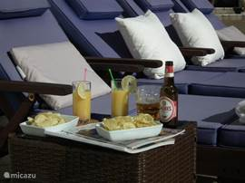 relaxen en genieten op het zonneterras van Casa de Sobra
