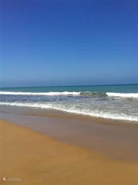 Het prachtige strand van Guardamar, op 10 autominuten van  het huis